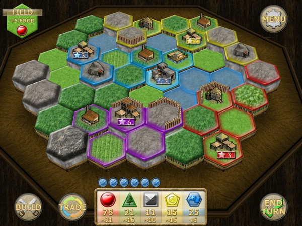 New World Colony - an indie strategy board game for iPad and